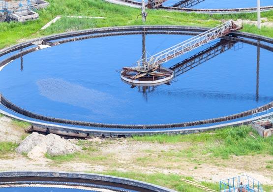 Industrielösungen für die Wasseraufbereitungsindustrie.