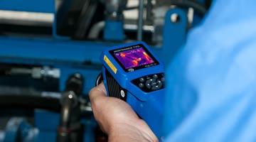 Hand-Messgeräte im Einsatz beim Condition-Monitoring, bzw. der Maschinenüberwachung.