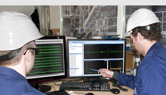 Installation und Processüberwachung von PCE Instruments.