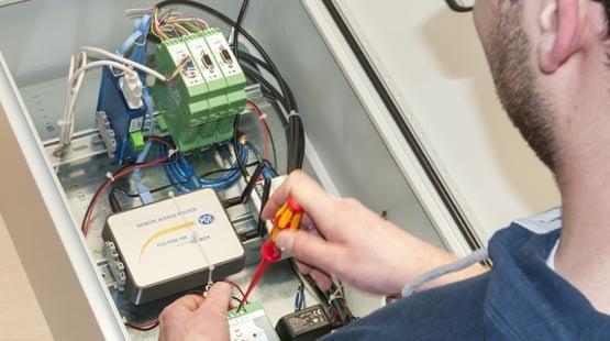 Regeltechnik für Maschinen und Anlagen zur Steigerung der Effizienz Ihrer Prozesse.