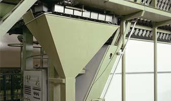 indirekte Wiegetechnik: Erfassen von Massenströmen mittels Prallplattenwägung