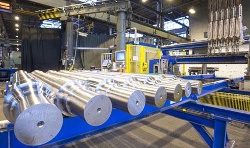 Metall-Produkte in der Qualitätskontrolle -NDT Prüfung