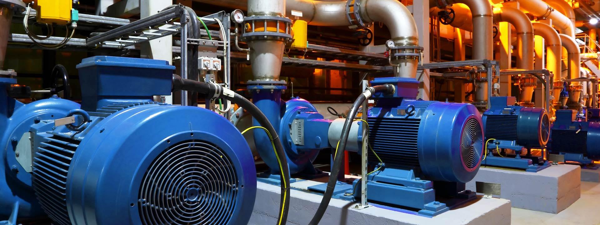 Zustandsüberwachung von Pumpen mittels Condition Monitoring Systemen