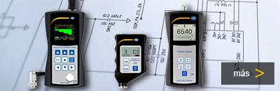 El desarrollo de productos (diseño) de los nuevos instrumentos de medida.