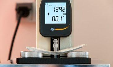 Меню измерительного оборудования