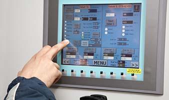 Интерфейсы HMI для использования в мониторинге производственного помещения