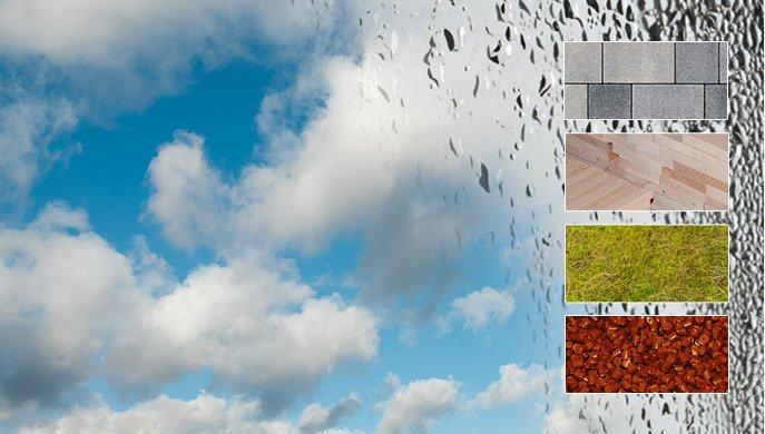 Medición de la humedad relativa y de la temperatura ambiental