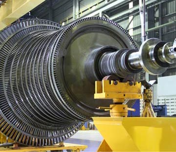Condition Monitoring at turbines in industrial processes