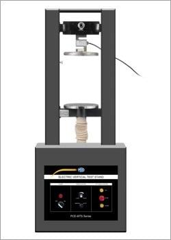 Instrumentos de medición de fuerza con máquina de ensayo