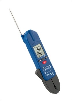 Técnicas de medición temperatura / Termómetro de contacto