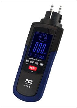 Instrumento de medición eléctrica / Comprobador FI/RCD