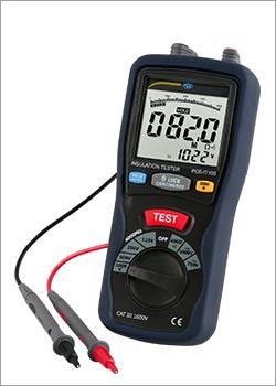 Instrumento de medición eléctrica / Medidor de aislamiento