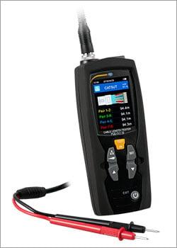 Instrumento de medición eléctrica / Medidor de longitud de cable
