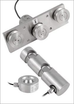 Instrumentos de medición de fuerza con célula de carga y sensores de fuerza