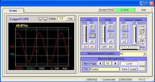Misura della frequenza della rete elettrica
