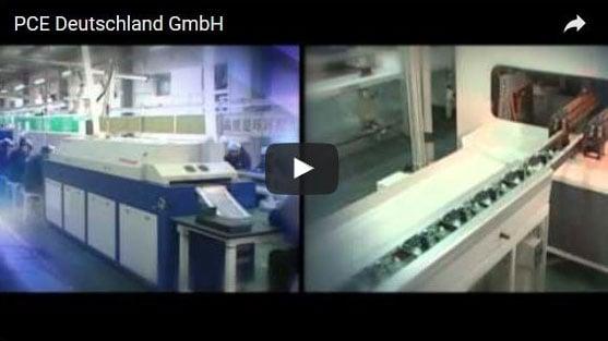 Video della sede, PCE Deutschland GmbH
