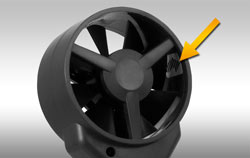 Impeller for Wind Speed Measurement