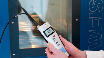 ISO calibration in a calibration laboratory.