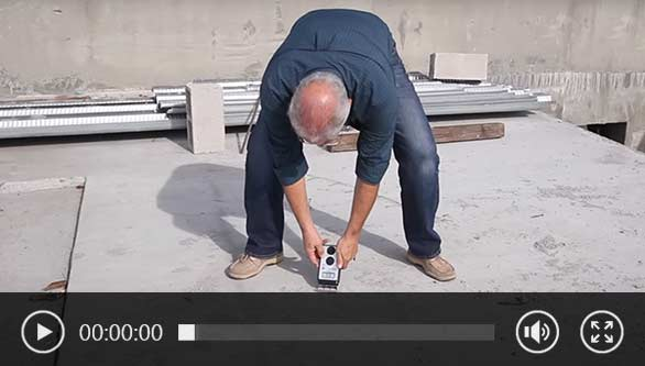 Concrete Moisture Meter Video