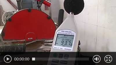 Watch application video of data logger PCE-353.