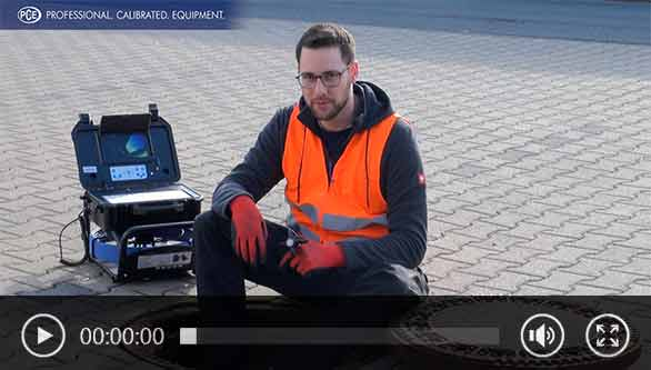 Drain camera Video