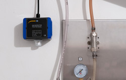 Gas Detector in an application.