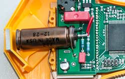 Geiger counter metal tube.