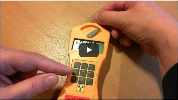 Video Geiger Counter