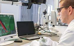 PCE-OVM 3D microscope application.