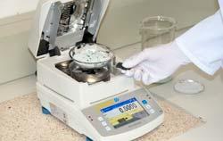 Moisture control by moisture balance PCE-MA 50x.
