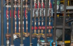 Moisture control in pneumatic systems.