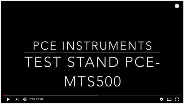 Video PCE-MTS500