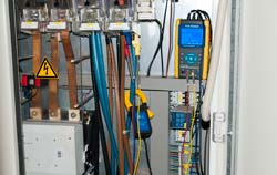 3-Phase Power Analyzer PCE-PA 8000 in use.