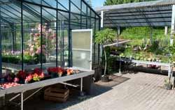 pH Meter in a gardening plant tree nursery.