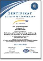 Energy audit certificate sample.