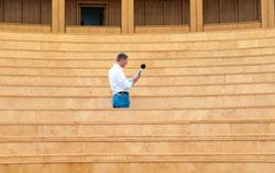 Sound level meter construction noise measurement