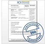 SPL Meter ISO Calibration report
