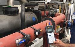 Ultrasonic Flow Meter in an application.