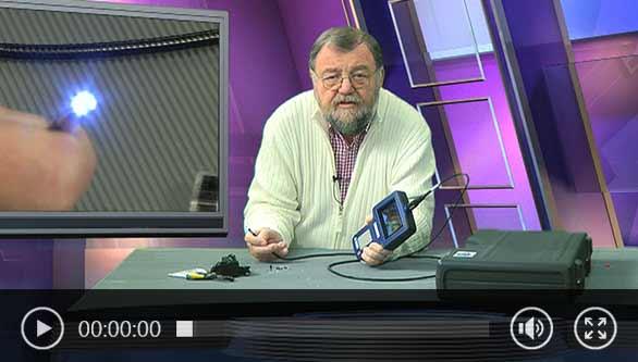 Videoscope video of Wolfgang Rudolph.