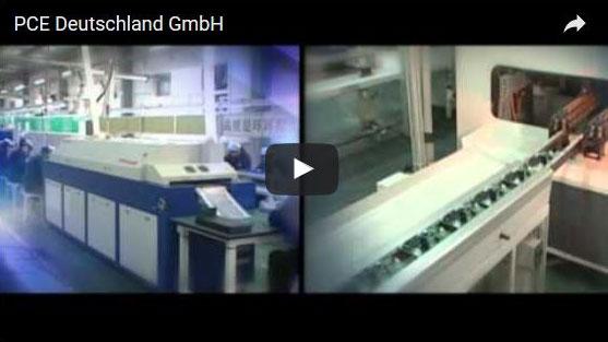 Video van het hoofdkantoor, PCE Deutschland GmbH