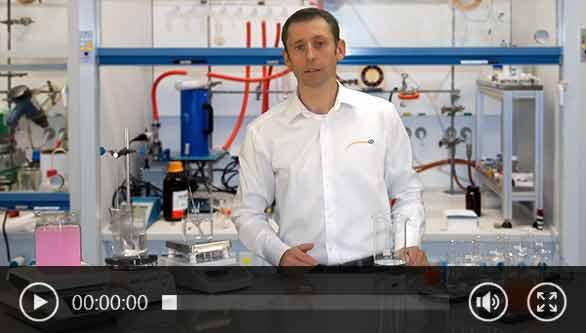 Video del agitador magnético