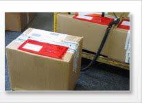 Balanza para pesar paquetes