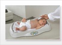 Balanza pesa bebes