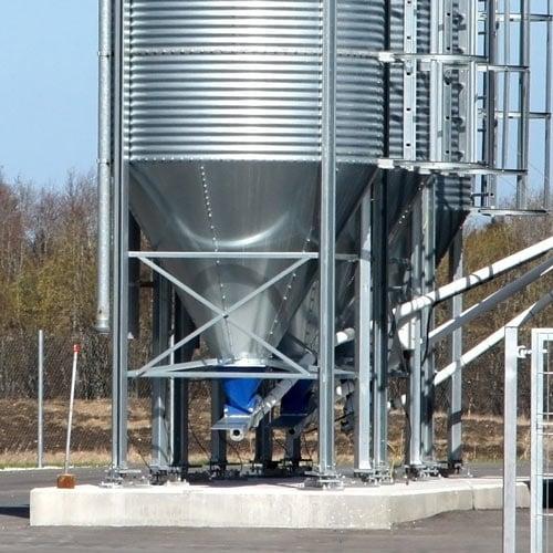 Visión general de la balanza de silo