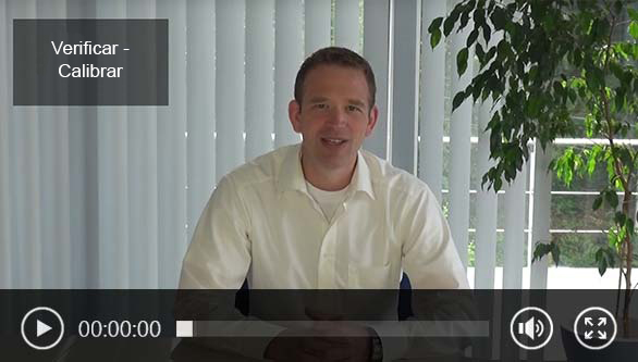 Video de calibración de PCE Instruments - FAQ.