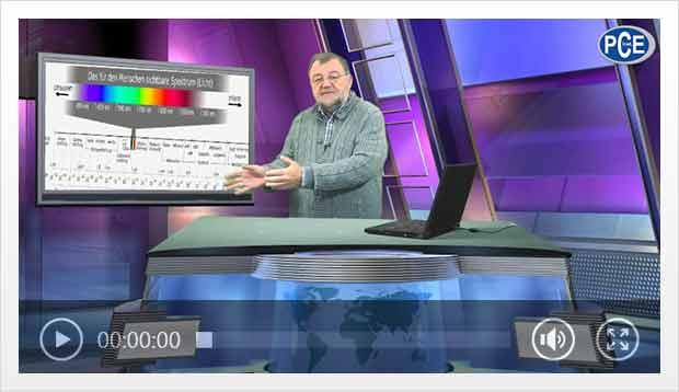 Video de una camara termografica