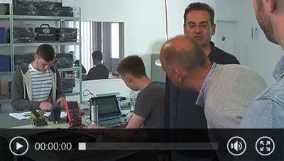 Monitoreo de instrumentos de prueba en desarrollo y producción