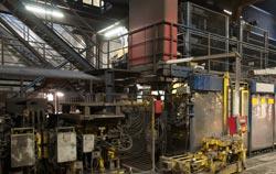 Manómetro de presión diferencial en un proceso industrial