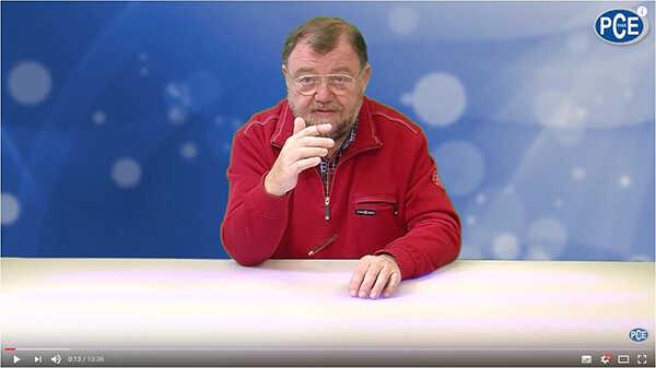 Video del medidor para humedad del aire