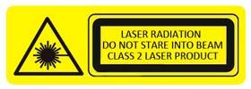 Clase de láser del telémetro láser